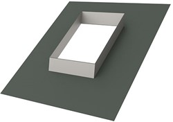 Itho Daalderop schoorsteen loodslab 15 ponds voor hellend dak (15 - 60 graden)