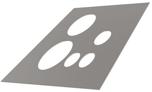 Itho Daalderop schoorsteen alu dakbeschotplaat vlak luchtdicht