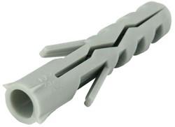 100 st plug 8x40mm. Nylon  (100 stuks)