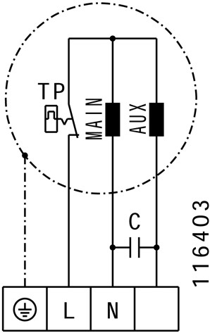 Ruck ETALINE E buisventilator 2360m³/h - Ø 315 mm (EL 315 E2 03)-3