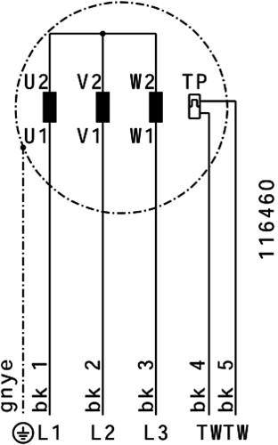 Ruck ETALINE D buisventilator 7350m³/h - Ø 450 mm (EL 450 D4 01)-3