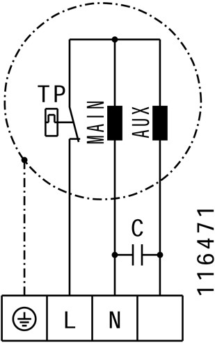 Ruck buisventilator 890m³/h - Ø  250 mm (RS 250)-3