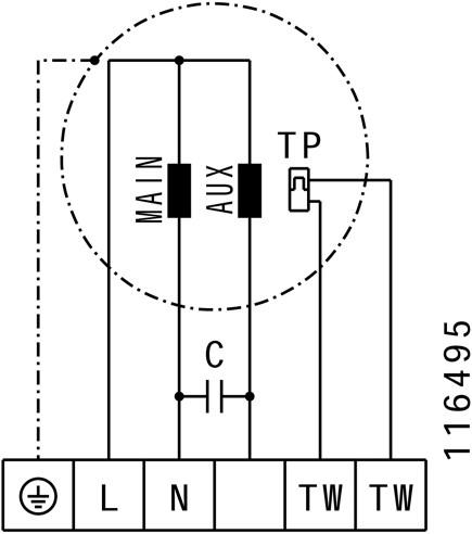 Ruck geïsoleerde kanaalventilator 3670m³/h - 600x350 (KVRI 6035 E4 31)-3