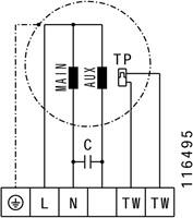 Ruck boxventilator met motor buiten luchtstroom 4225m³/h (MPC 315 E2 T21)-3