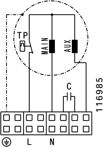 Ruck geïsoleerde boxventilator 730m³/h -Ø  200 mm (ISOR 200 E2 11)-3
