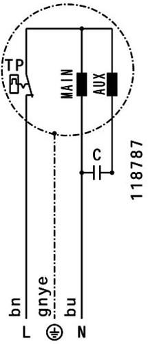 Ruck ETALINE E buisventilator 1625m³/h - Ø 250 mm (EL 250 E2 06)-3