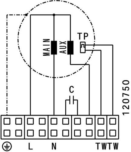 Ruck ETALINE E buisventilator 13940m³/h - Ø 630 mm (EL 630 E4 01)-3