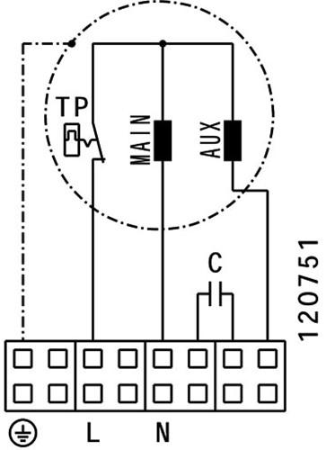 Ruck ETALINE E buisventilator 3440m³/h - Ø 400 mm (EL 400 E4 01)-3
