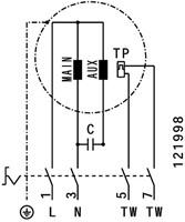 Ruck geluiddempende dakventilator voor keukenafzuiging tot 120°C  - 6130 m³/h - (DVNI 450 E4 20)-3