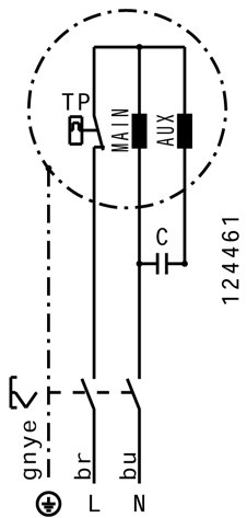 Ruck metalen dakventilator met opendraaiende ventilatie-unit 1100 m³/h (DVA 280 E4P 31)-3