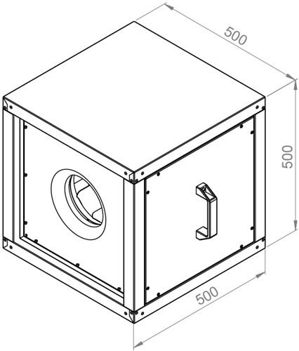 Ruck boxventilator 2610m³/h (MPC 250 E2 20)-2