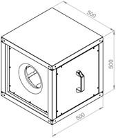 Ruck boxventilator 3380m³/h (MPC 280 E2 20)-2