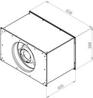 Ruck Etaline kanaalventilator 4970m³/h - 600x350 (ELKI 6035 E2 10)-2