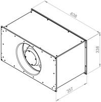 Ruck Etaline kanaalventilator 2400m³/h - 600x300 (ELKI 6030 E2 10)-2