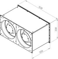 Ruck Etaline kanaalventilator 4900m³/h - 600x300 (ELKI 6030 E2 11)-2
