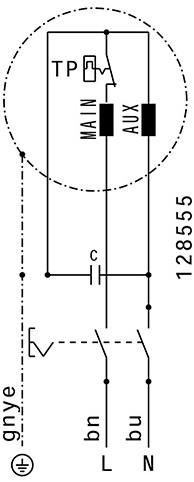 Ruck kunststof dakventilator met apparaatschakelaar - 450m³/h (DHA 220 E4P 01)-3