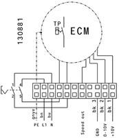Ruck kunststof dakventilator met apparaatschakelaar en EC motor- 1020m³/h (DHA 220 ECP 20)-3