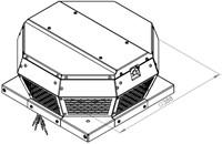 Ruck metalen dakventilator met EC motor en apparaatschakelaar 670m³/h (DHA 190 ECP 30)-2