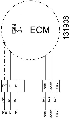 Ruck Etamaster kanaalventilator EC-motor 2330m³/h - 500x300 (EMKI 5030 EC 20)-3