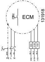 Ruck metalen dakventilator met EC-Motor en opendraaiende ventilatie-unit 1970 m³/h (DVA 280 ECP 31)-3
