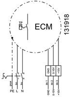 Ruck metalen dakventilator met EC-Motor en opendraaiende ventilatie-unit 2750 m³/h (DVA 355 ECP 31)-3