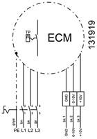Ruck metalen dakventilator met EC motor en apparaatschakelaar 13100m³/h (DHA 560 ECP 30)-3