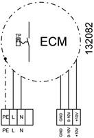 Ruck geïsoleerde kanaalventilator EC-motor 4390m³/h - 600x350 (KVRI 6035 EC 31)-3