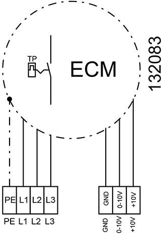 Ruck ongeïsoleerde kanaalventilator EC-motor 9550m³/h - 800x500 (KVR 8050 EC 30)-3