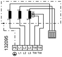 Ruck ongeïsoleerde kanaalventilator 9120m³/h - 800x500 (KVR 8050 D4 30)-3