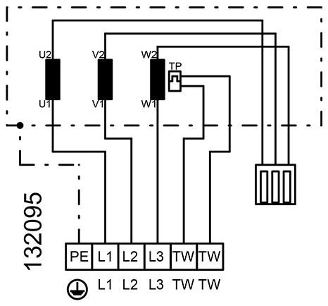 Ruck ongeïsoleerde kanaalventilator 11460m³/h - 1000x500 (KVR 10050 D4 30)-3