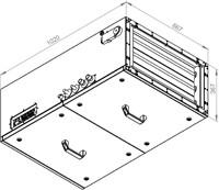 Ruck toevoer luchtbehandelingskast met regeling - DV koeler 1785m³/h - 600x300 (SL 6030 E3J 12 10)-2