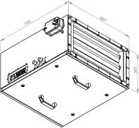 Ruck toevoer luchtbehandelingskast met regeling 1860m³/h - 600x300 (SL 6030 E2J 20 10)-2
