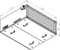 Ruck toevoer luchtbehandelingskast met regeling - PKW koeler 6470m³/h - 1200x400 (SL 12040 E3J 21 10)-2