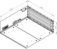 Ruck toevoer luchtbehandelingskast met regeling - PKW koeler 3290m³/h - 900x300 (SL 9030 E3J 11 10)-2