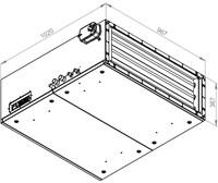 Ruck toevoer luchtbehandelingskast met regeling - PKW koeler 3290m³/h - 900x300 (SL 9030 E3J 21 10)-2
