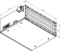 Ruck toevoer luchtbehandelingskast met regeling 3830m³/h - 900x300 (SL 9030 E2J 20 10)-2
