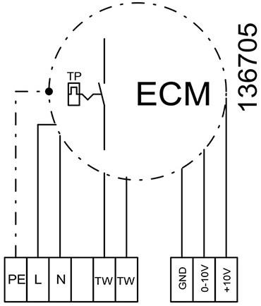 Ruck afvoer luchtbehandelingskast zonder regeling 5110m³/h - 900x400 (SL 9040 E1 10 10)-3