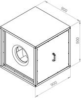 Ruck boxventilator 8800m³/h (MPC 500 E4 21)-2