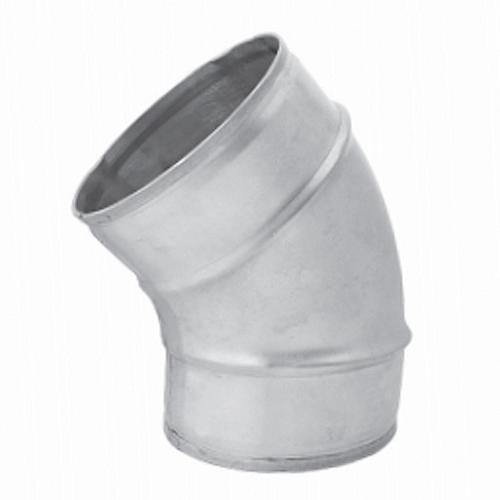 Bocht diameter 80 mm 45 graden (niet safe)
