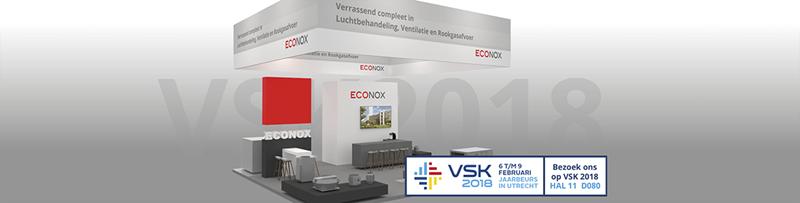 Bezoek Econox op de VSK beurs 2018