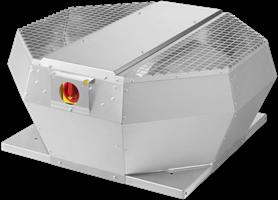 Dakventilator, verticaal, met opendraaiende ventilatie-unit en EC-motor (DVA EC P)