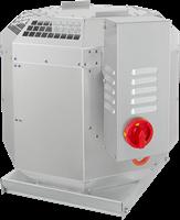 Dakventilator voor keukenafzuiging tot 120°C met frequentiegestuurde motor (DVN D)