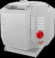 Dakventilator voor keukenafzuiging tot 120°C geluiddempend met frequentiegestuurde-motor (DVNI D)