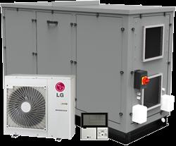 Luchtbehandelingskast CLIMA COMBI-DX 2000 (Plug-n-play met warmtepomp) 2000 m3/h