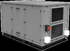 Luchtbehandelingskasten CLIMA ECO-PLUS serie tot 4000 m³/h (tegenstroom)