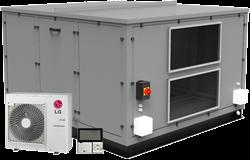 Luchtbehandelingskast CLIMA COMBI-DX 4000 (Plug-n-play met warmtepomp) 4000 m3/h
