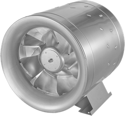 Ruck ETALINE D buisventilator 16250m³/h - Ø 630 mm (EL 630 D4 03)