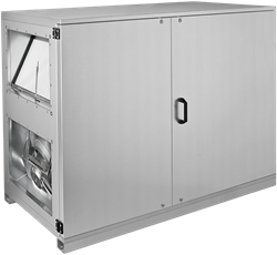 Ruck ETA luchtbehandelingskast met tegenstroom en PWW verwarmer - links - 3005m³/h (ETA K 2400 H WOJL)