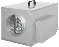 Ruck compacte luchttoevoerunit met verwarmingsbatterij (FFH)