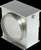 Luchtfilterbox met vliesfilter